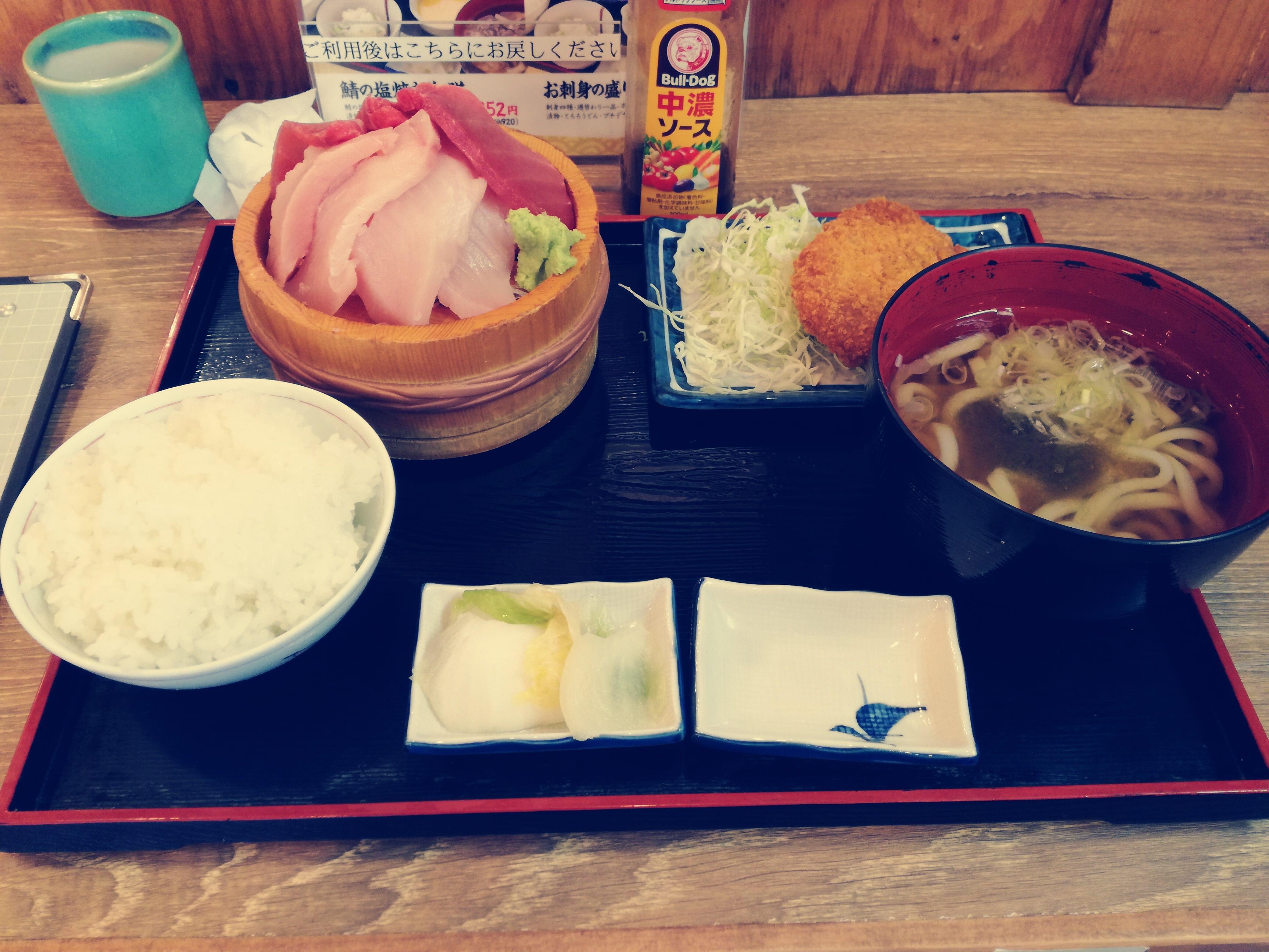 磯丸水産の昼定食