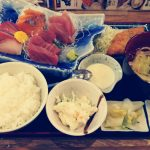 ランチは磯丸水産のお刺身の盛り合わせ御膳 クリレスの株主優待券を使い切りました!