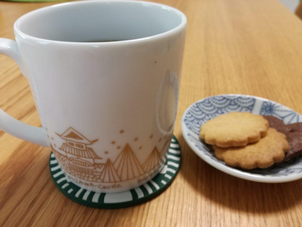 娘からもらったバレンタインを三谷産業(8285)の株主優待コーヒーカップで楽しむ