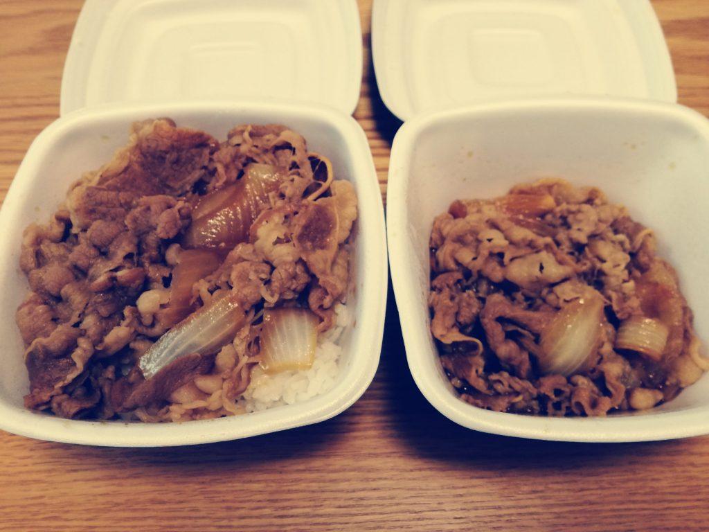 吉野家ホールディングス(9861)の株主優待券で数年ぶりに牛丼を食べました!