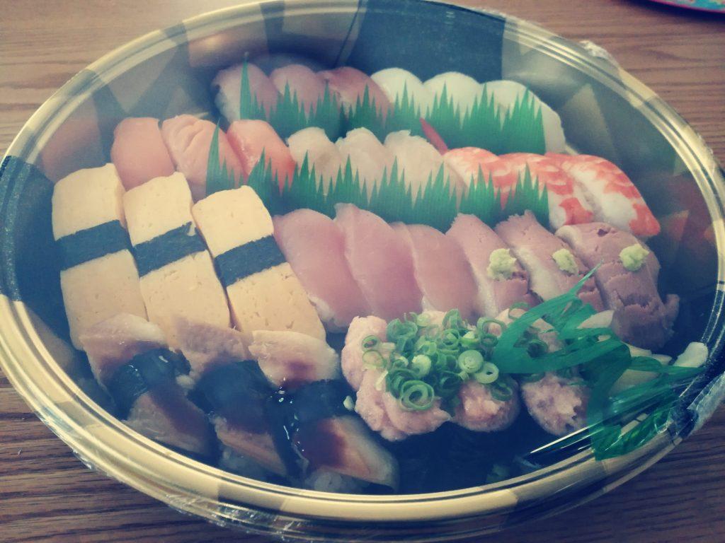 ライドオンエクスプレスホールディングス(6082)の株主優待券で宅配寿司を注文しました!