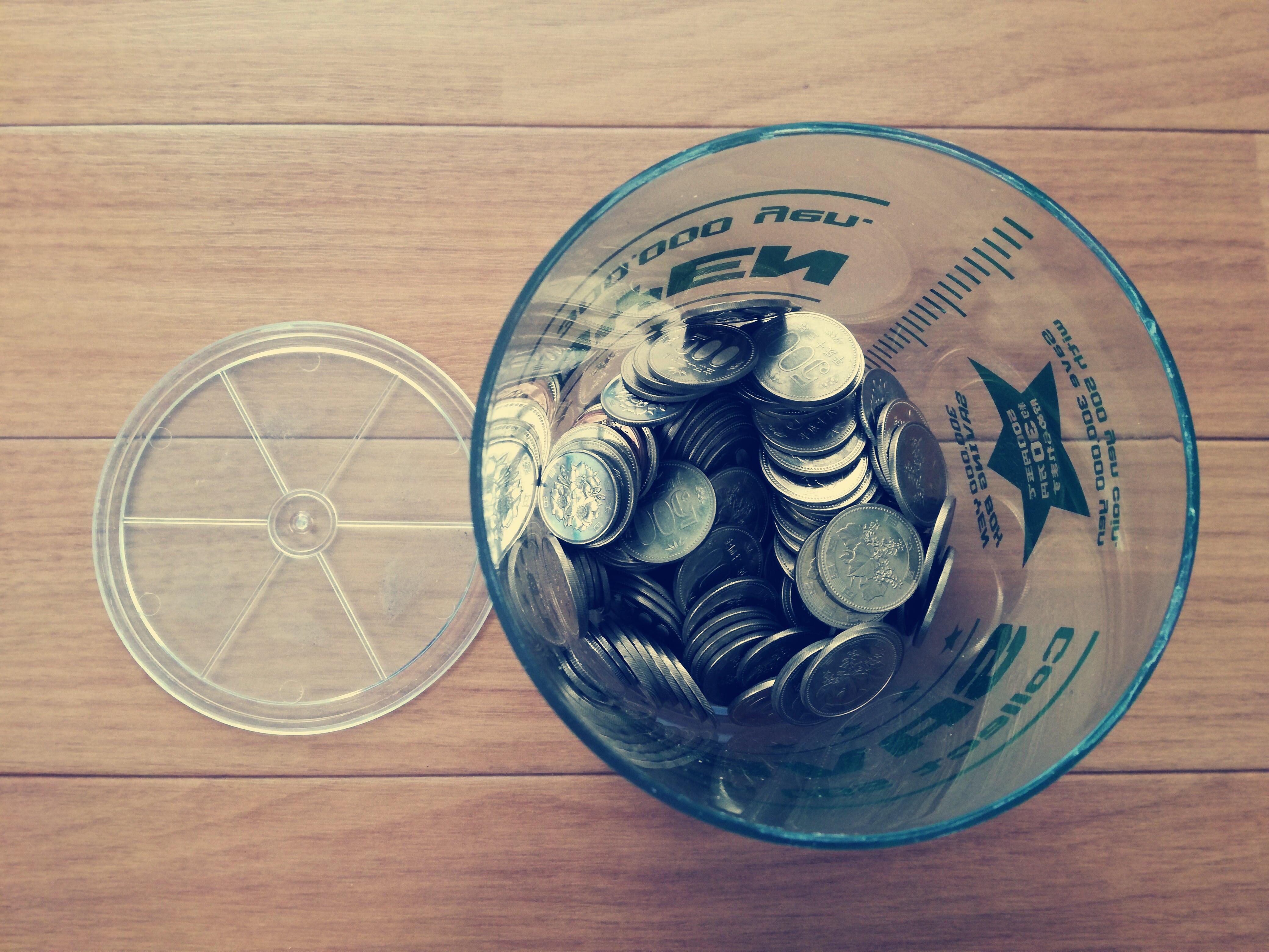 いくら貯まったのか?5年間コツコツ貯めた500円玉貯金箱を開封!