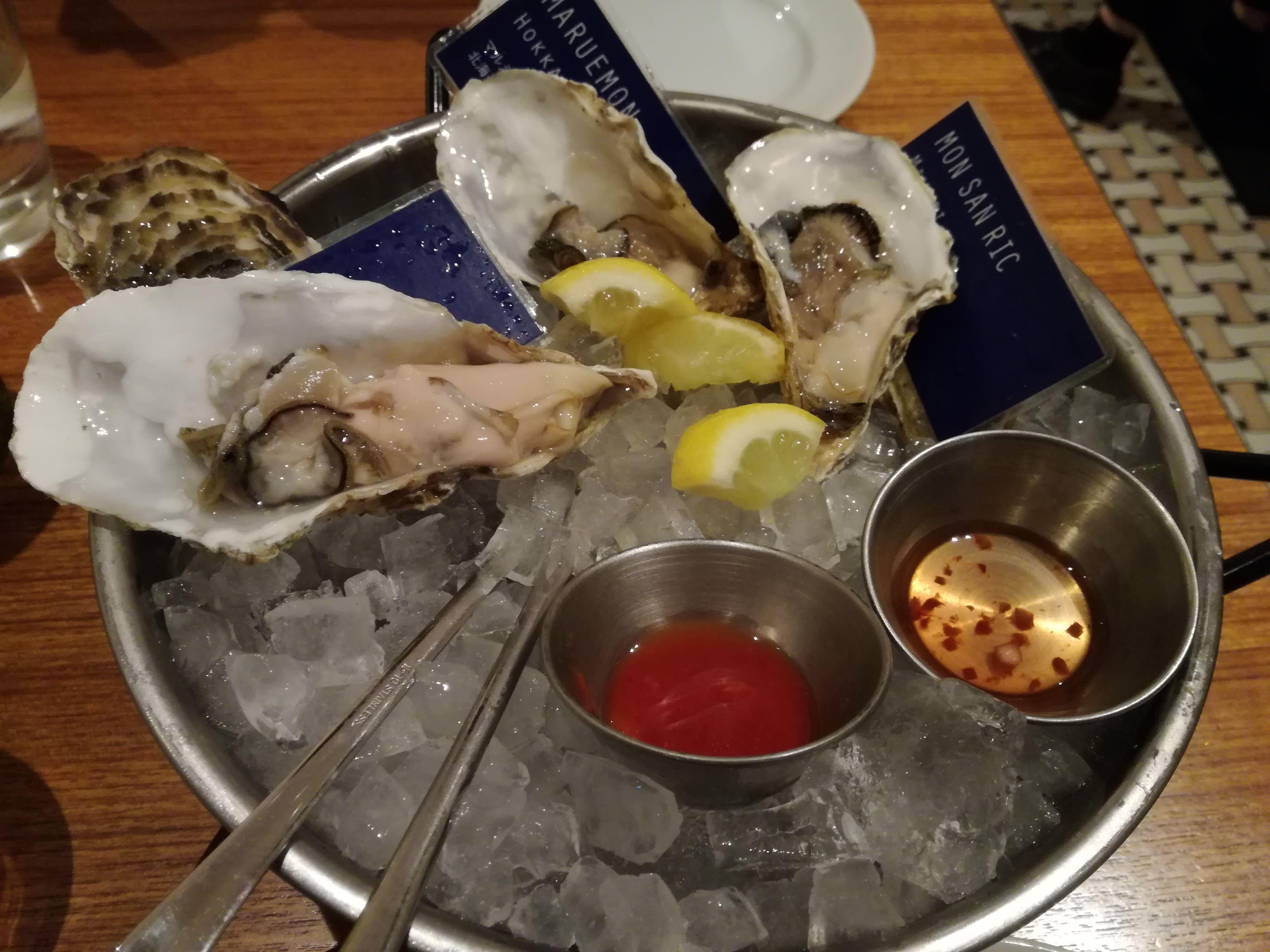 東京ミッドタウン日比谷の「ボストンオイスター&クラブ」と「日比谷焙煎珈琲」でクリレス(3387)の株主優待券を使い切りました!